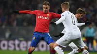 Arsenal tertarik mengamankan jasa penyerang muda Rusia yang kini membeka CSKA Moskow, Fedor Chalov. (AFP/Kirill KUDRYAVTSEV)