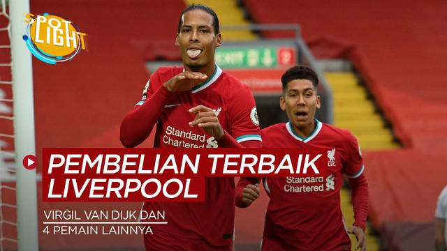 Berita video spotlight kali membahas tentang 5 pembelian terbaik Liverpool pada bursa transfer bulan Januari, Virgil van Dijk jadi salah satunya.