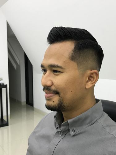 Model Potongan Rambut Pria Undercut Dari Depan Belakang ...