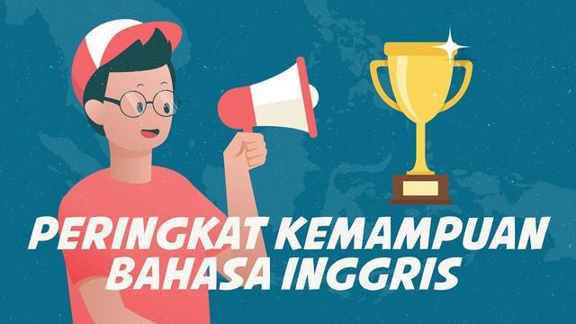 Lembaga pendidikan internasional Education First (EF) merilis  English Proficiency Index (EPI) 2019 atau kemampuan berbahasa Inggris terbaik.