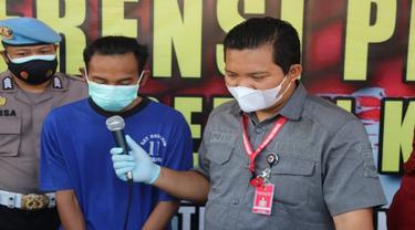 Pengakuan Pelaku Penyebar Video Hoax Kerusuhan di Pasar Induk Jagasatru Kota Cirebon