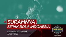 Half Time Show: Suramnya Sepak Bola Indonesia. (Bola.com/Dody Iryawan)