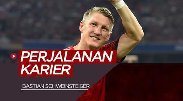 Berita video akhir perjalanan Bastian Schweinsteiger, legenda Bayern Munchen di dunia sepak bola.