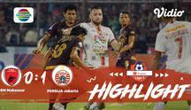 Laga lanjutan #ShopeeLiga1, mempertemukan #PSM Makassar vs #Persija Jakarta pada hari Minggu malam (20/10/2019) berakhir dengan sk...