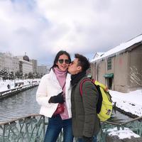 Usai bulan madu ke Amerika dan Italia, Baim Wong dan Paula Verhoeven lanjutkan perjalanan ke Negeri Sakura. (instagram/baimwong)
