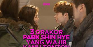 Ini dia rekomendasi tiga drakor yang dibintangi Park Shin Hye dan sayang untuk kamu lewatkan! Yuk, cek video di atas!