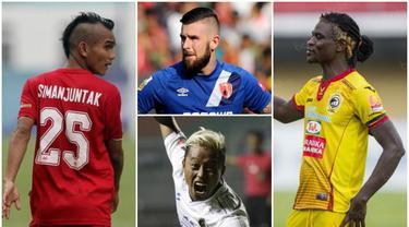 Berikut ini gaya rambut pemain Shopee Liga 1 Indonesia