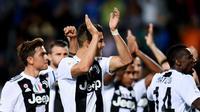 Nama seperti Matuidi dan Sami Khedira saat ini telah berusia kepala tiga. Diharapkan Adrian Rabiot bisa menjadi pemain muda yang menjadi proyek jangka panjang Juventus kedepannya. (AFP/Marco Bertorello)