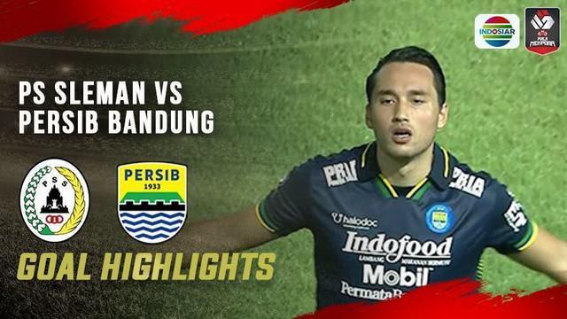 Berita video gol-gol yang tercipta pada laga PSS melawan Persib Bandung pada laga leg kedua semifinal Piala Menpora 2021, Senin (19/4/2021) malam hari WIB.