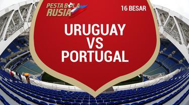 Portugal menelan kekalahan saat menghadapi Uruguay di babak 16 besar Piala Dunia 2018. Hasil ini membuat Ronaldo cs harus pulang kampung.