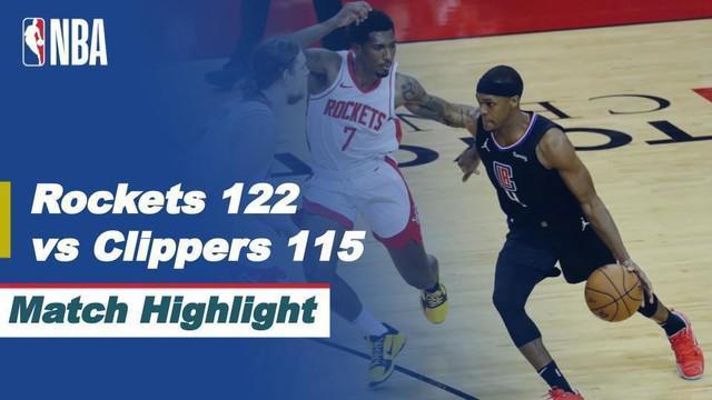 Berita Video Houston Rockets Tumbangkan LA Clippers 122-115