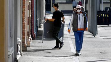 Sepinya Melbourne di Tengah Lockdown