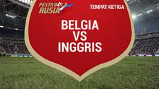 Belgia berhasil menjadi peringkat tiga di Piala Dunia 2018. Eden Hazard dan kawan-kawan mampu menekuk Inggris 2-0 pada pertandingan perebutan tempat ketiga Piala Dunia 2018.