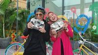 Ria Ricis dan Atta Halilintar (Foto: Instagram/@riaricis1795)