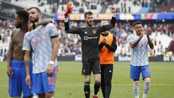 Tepis Tendangan Penalti, De Gea Bangga Bisa Bantu MU Atasi West Ham