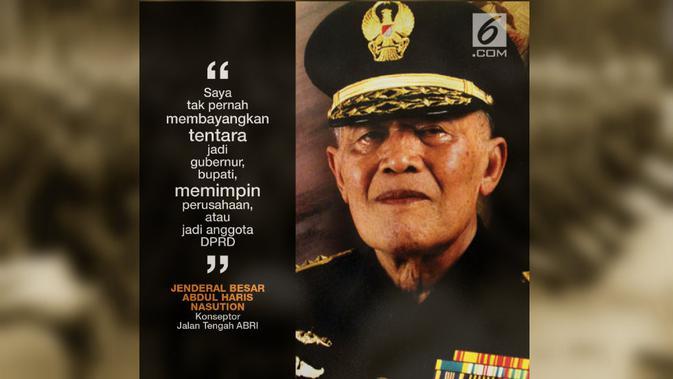 Mengenang Satu Abad AH Nasution, Jenderal Besar Penggagas