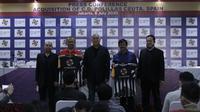 Batavia Sports Group (BSG) resmi mengakuisisi klub Spanyol, C.D. Polillas Ceuta. Pengumuman pembelian ini digelar di Graha BIP, Jakarta, Rabu (8/7/2020). (Bola.com/Diatama Ibduansa).