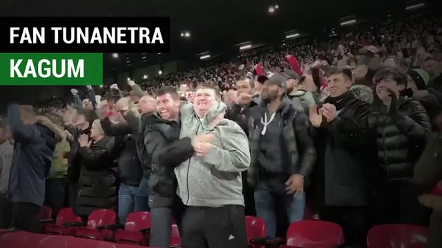 Berita video seorang fan Liverpool yang tunanetra bernama Mike Kearney menjadi viral setelah kagum dengan gol Mohamed Salah ke gawang Napoli di Liga Champions 2018-2019.