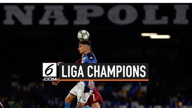 Laga Liverpool Vs Napoli digelar di stadion Sao Paolo. Liverpool tak berkutik digilas Napoli dengan skor 2-0.