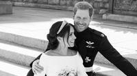 Baru saja menggelar royal wedding dengan dinikahi Pangeran Harry, Meghan Markle telah mengalami sebuah masalah dan mengalami pelecehan (Instagram/@kensingtonroyal)
