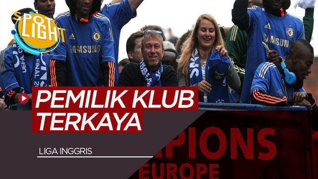 Berita video membahas tentang pemilik klub terkaya di Liga Inggris, Chelsea hanya diurutan kedua?
