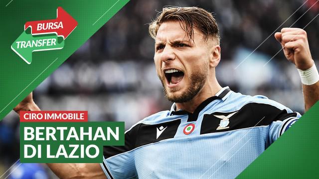 Berita Video Lazio Perpanjang Kontrak Ciro Immobile Hingga 5 Tahun Kedepan