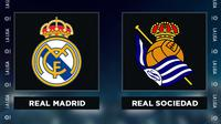Liga Spanyol: Real Madrid Vs Real Sociedad. (Bola.com/Dody Iryawan)