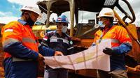 Proyek Pembangunan Pabrik RKEF dan HPAL yang ditargetkan mulai beroperasi dan rampung pada 2024. Perusahaan terus menggenjot pembangunan infrastruktur strategis di lokasi smelter. (Liputan6.com/dok.CNI)