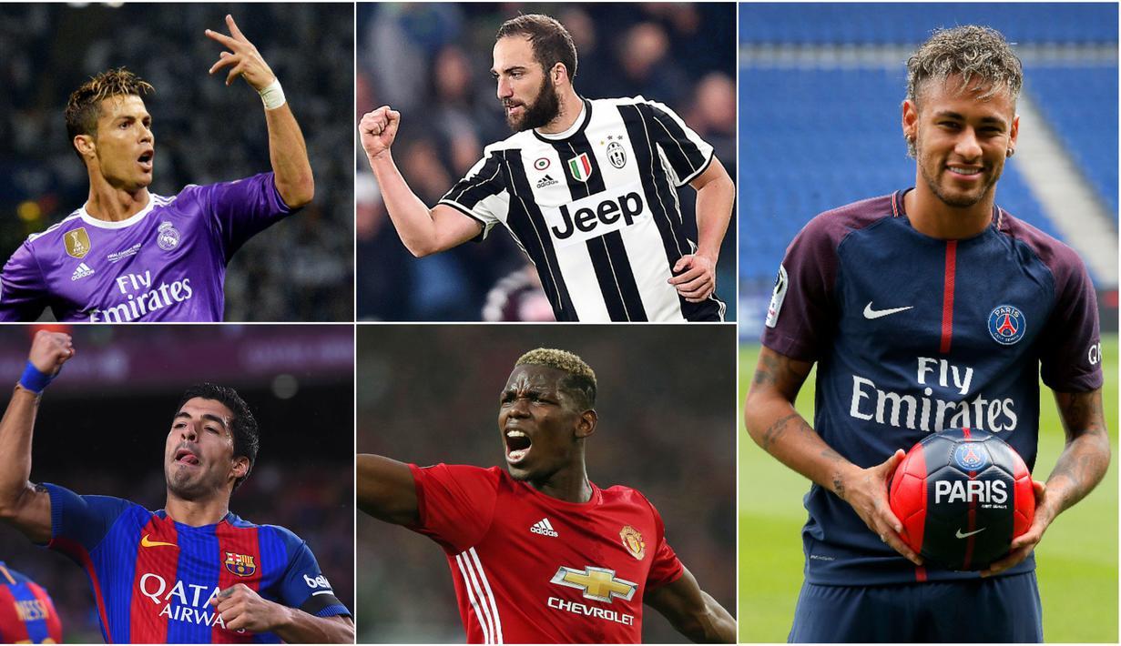 FOTO Neymar Dan 6 Pesepak Bola Termahal Di Dunia Dunia