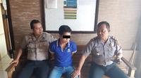 Tersangka pembunuhan bocah tujuh tahun di Bogor ditangkap di Pemalang. (Foto: Liputan6.com/Polres Pemalang/Muhamad Ridlo)