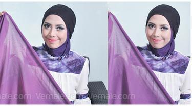 Hijab Tutorial Turban Kepang Sederhana Cantik Dan Gampang Beauty Fimela Com