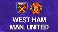 Liga Inggris: West Ham United Vs Manchester United. (Bola.com/Dody Iryawan)