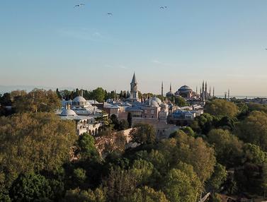 Pemandangan Udara Istanbul Selama Pandemi
