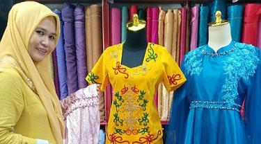 Ernawati, sukses mengembangkan usaha kain dan perlengkapan jahit bernama Cahaya Sablon di Palangka Raya, Kalimantan Tengah.