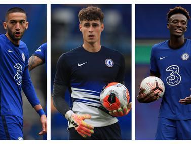 Foto Liga Inggris: Atas Nama Perombakan, 7 Pemain Berikut Bakal Dilepas Chelsea usai Menjuarai Liga Champions