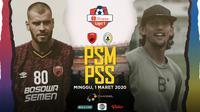 Shopee Liga 1 2020: PSM Makassar vs PSS Sleman. (Bola.com/Dody Iryawan)