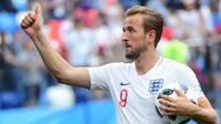Penyerang timnas Inggris, Harry Kane. (AFP/Martin Bernetti)
