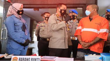 Polisi Ungkap Puluhan Kasus Narkoba di Malang Dalam Waktu Dua Bulan