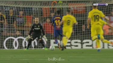 Barcelona semakin dekat dengan rekor tak terkalahkan dalam satu musim La Liga usai mengalahkan Villareal dengan skor telak 5-1, Ka...