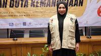 Tidak hanya suaranya, namun Melly Goeslaw pun juga berhati emas. Rela meninggalkan anak-anak dan suami, Melly pergi dari Indonesia menuju Palestina untuk membantu masyarakat di sana. (Instagram/melly_goeslaw)
