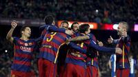 Barcelona vs Espanyol (REUTERS/Albert Gea)