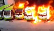 Kebakaran bus listrik di China (Carscoops)