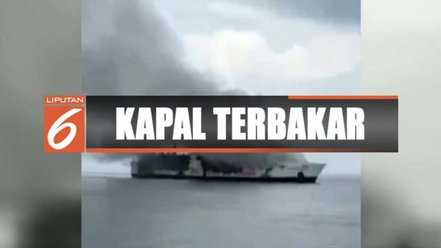 Sebanyak 111 penumpang KM Santika Nusntara yang terbakar di Perairan Masalembu, Sumenep, berhasil dievakuasi.