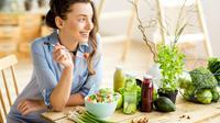 Ilustrasi makan sehat/copyright shutterstock