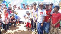 Relawan Solmet peduli korban longsor Sukajaya Bogor (Istimewa)