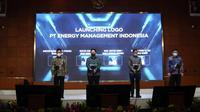Acara Launching PT Energy Management Indonesia (EMI) ke dalam PLN Group untuk Mendukung Inisiatif Dekarbonisasi Menuju Green Economy yang berlangsung di Jakarta, Jumat (22/10/2021).