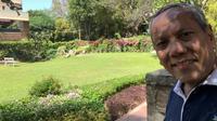 Cerita Prof Tjandra Yoga Aditama menikmati bunga musim semi di India di tengah Lockdown 2.0. (Dok Prof Tjandra Yoga Aditama)