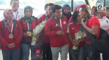 Setelah berlaga di Asian Games tim panjat tebing Indonesia, selasa petang, tiba kembali di Yogyakarta. Mereka menyatakan akan kembali menjalani pemusatan latihan di Yogyakarta, untuk menghadapi berbagai even internasional lainnya, termasuk Olimpiade.