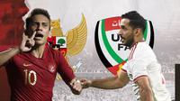 Indonesia vs Uni Emirat Arab: Egy Maulana Vikri vs Ali Mabkhout. (Bola.com/Dody Iryawan)