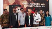 Peluncuran Ekosistem Wizphone. Liputan6.com/Pramita Tristiawati
